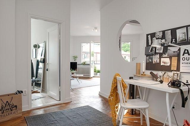 Очень стильный шведский интерьер #FAQinDecor #design #decor #architecture #interior #art #дизайн #декор #архитектура #интерьер