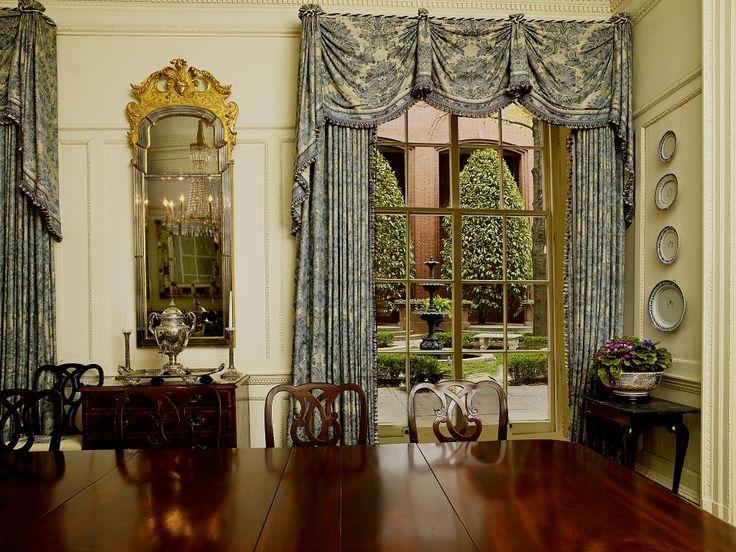 Superieur Kingston Valance With Deco Cord Top. Decor Dose | The Blair House    Washington,