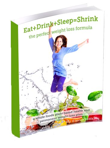 Eat, Drink, Sleep=Shrink is the new, and the best Weight Loss Plan. It is based on science, common sense, whole foods plant based diet, and careful planning for maximum results.