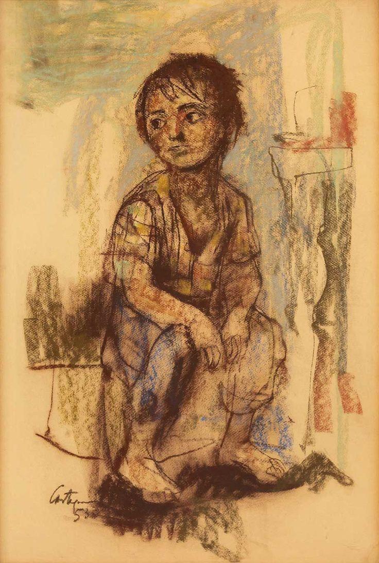 Niño - Juan Carlos Castagnino