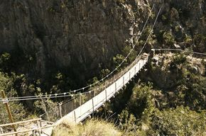Ruta de Puentes colgantes valencia