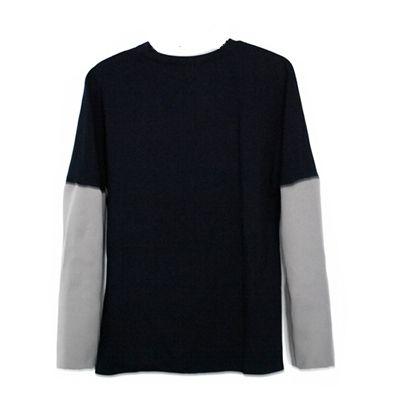 Sweater Gray / Navy