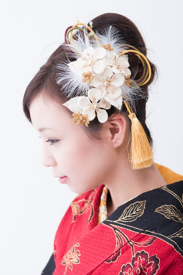 Kanzashi Japanese Traditional Hair Ornament Decorative