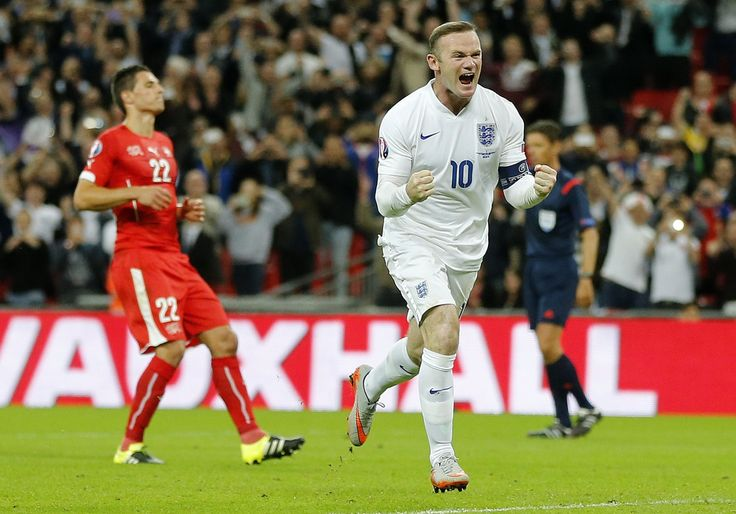 @England Wayne Rooney became England's 50-goal all-time leading scorer with a late penalty against Switzerland as Roy Hodgson's men maintained their perfect record in UEFA #EURO2016 qualifying Group E #9ine