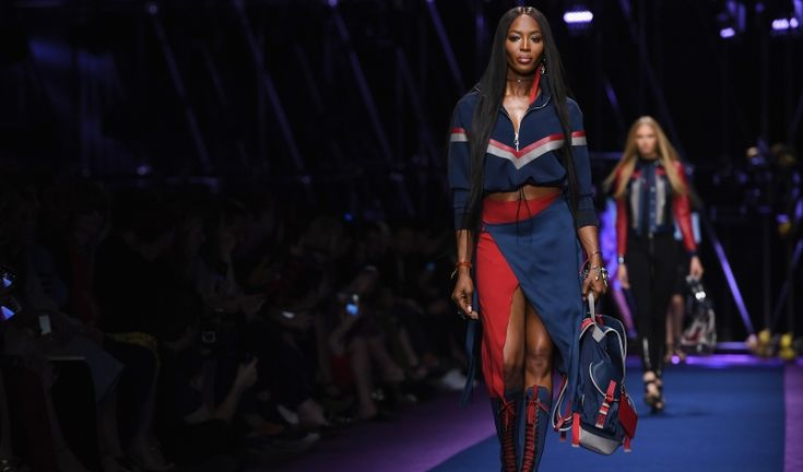 Naomi Campbell Walks Versace's Spring 2017 Show - Daily Front Row
