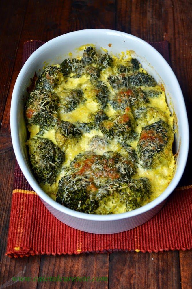 CAIETUL CU RETETE: Broccoli gratinat