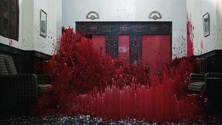"""""""Redrum"""" – Always loved this scene in Shining. I love horror movies. I see this image as a tribute to the gore."""