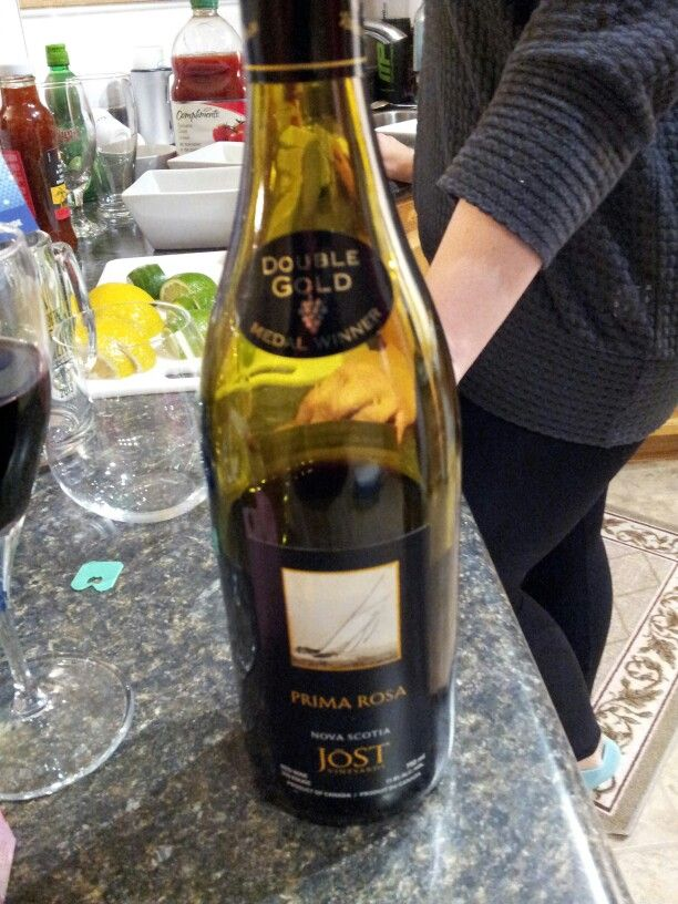 Prima Rosa Jost a very smooth and sharp wine