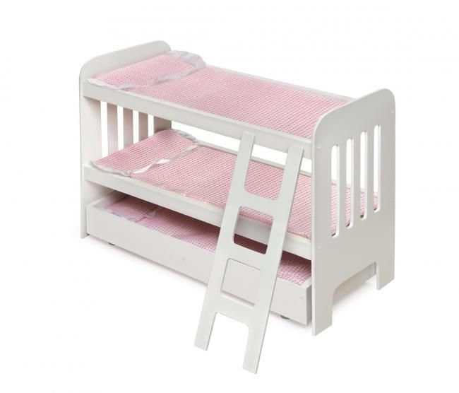 how to make an american girl doll bunk bed