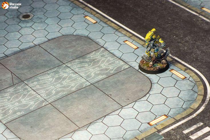 Battle mat: Infinity Inc.
