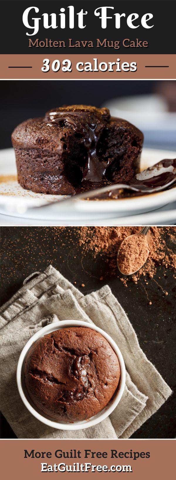 Warm Chocolate Lava Cake Recipe