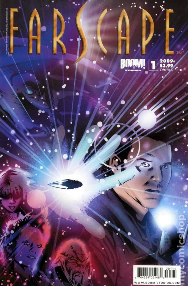 Farscape (2009 Boom Studios Ongoing) 1B Comic book covers