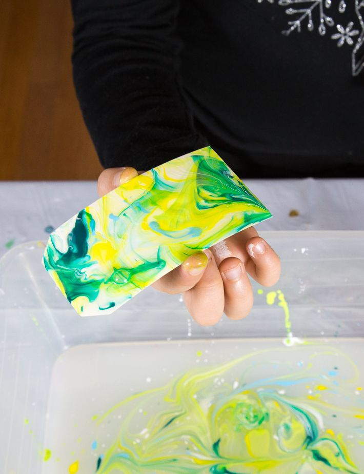 Paper Marbling With Acrylic Paint And Liquid Starch Marble Paper Marble Paper Design Acrylic Painting