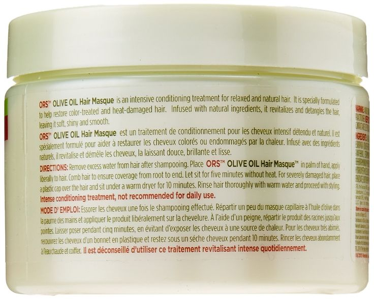 Ors Olive Oil Hair Masque, 11 Ounce -- You can find out more details at the link of the image. #hairoftheday