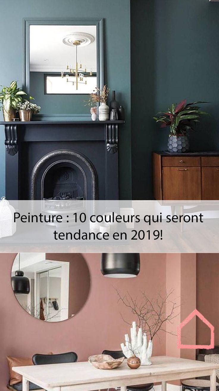 Peinture 10 Couleurs Qui Seront Tendance En 2019 Home Decor Architecture House Home Salon