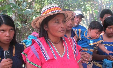 Panama's indigenous population 2012 protests over mining and hydroelectric projects in their comarca.: Hydroelectric Projects, 2012 Protests, Panama S Indigenous, Indigenous Population