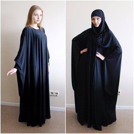 Black #maxidress , casual #abaya , Oversize long sleeve dress, Muslim clothing, #islamic  outfit, Basic dress, Elegant #dress , Plus size dress, #hijab