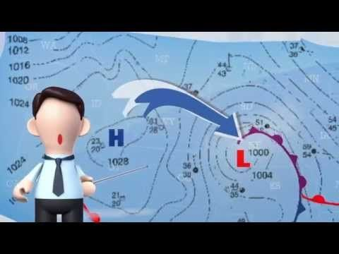 How to Read a Weather Map - YouTube  This video pared with the another video will be great. This has good information but not real deep.