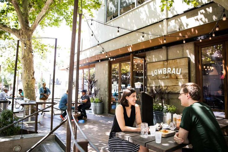 The patio Lowbrau in midtown Sacramento. Photo: Max Whittaker/Prime, Special To The Chronicle