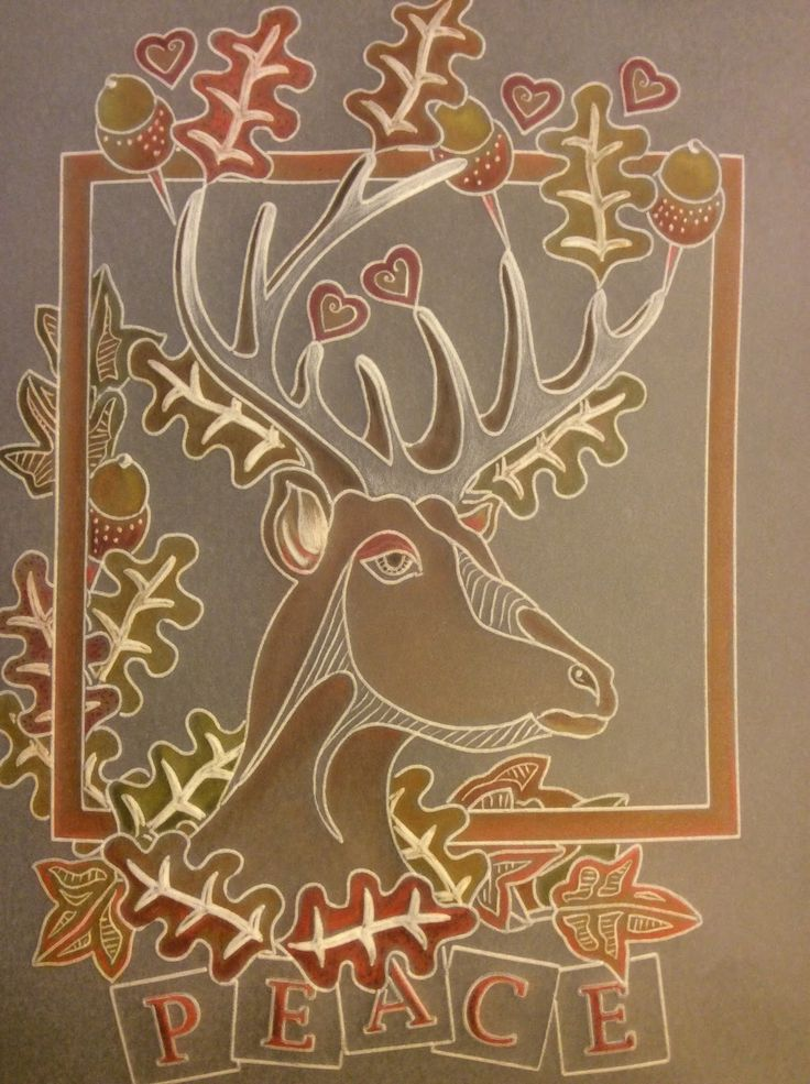 Stag Groovi card created by Barbara Gray