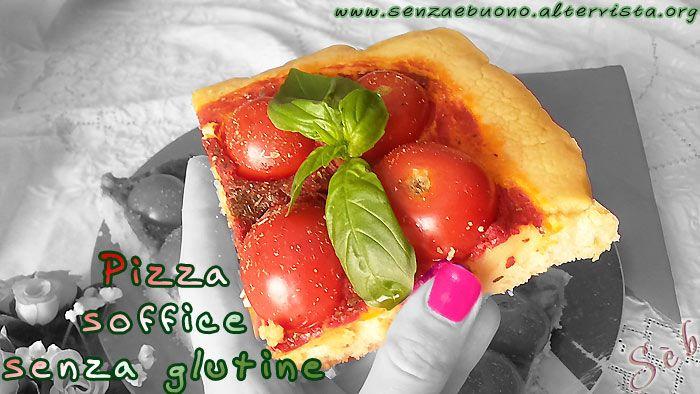 Pizza #senzaglutine, solo con farine naturali, #vegan e senza lievito di birra
