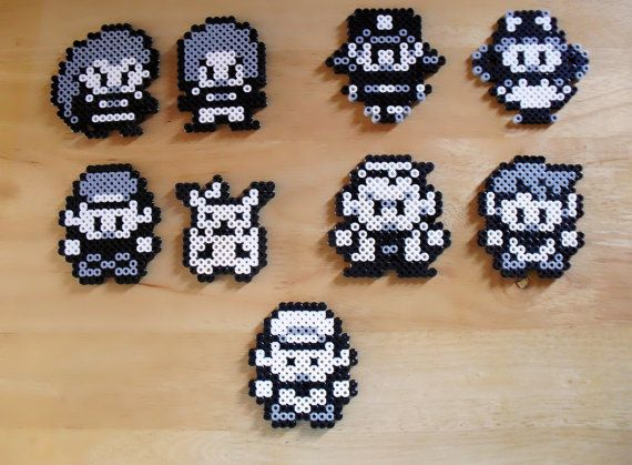 Overworld Pokemon Characters Sprite Magnet by DelightfulEpiphany, $30.00
