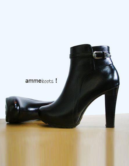 Botas Lily 100% cuero disponibles en nuestra tienda www.amme.com.co