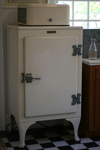 old icebox; yep we had one