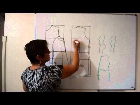 Corrigindo molde de vestido e blusa para vários tipos de corpo - Aula 33 - YouTube