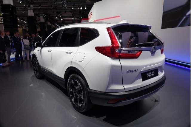 Honda Crv Hybrid >> 2019 Honda Cr V Hybrid Rear Honda Cars Honda Cr Honda