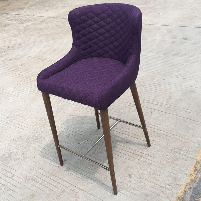 Стул CINDY полубарный темно-фиолетовый