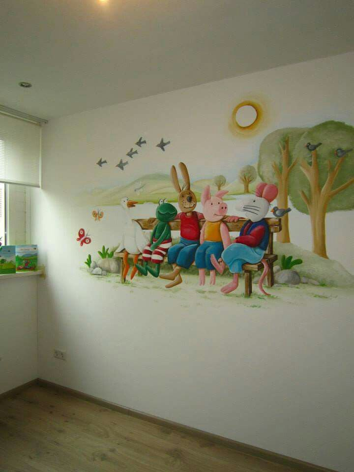 143 beste afbeeldingen over muurschilderingen op pinterest - Kamer paard meisje ...