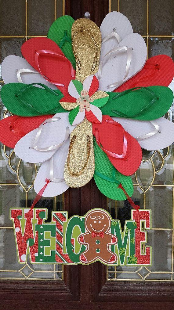 wwwtheflipflopdaisycom flip flops christmas christmas in july handmade christmas
