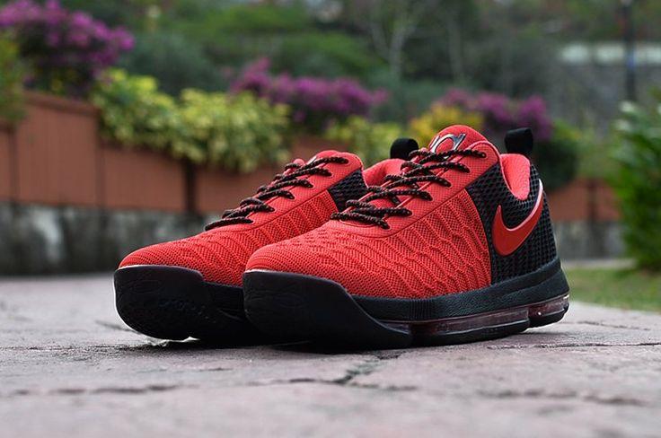 Nike Zoom KD9 Kevin Durant Basketball Men Shoes Red Black