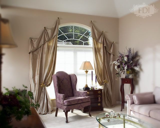 arched top windows