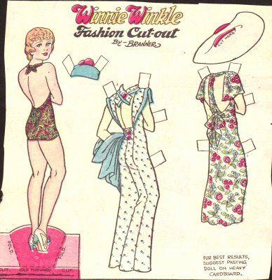 Winnie Winkle, 1930's: Dolls Galor, Aankleedpopj Paperdol, Dolls Adult, Winnie Winkl, Dolls Com, Dolls Vii, Dolls Xxiv, Dolls Xviii, Paper Dolls 1