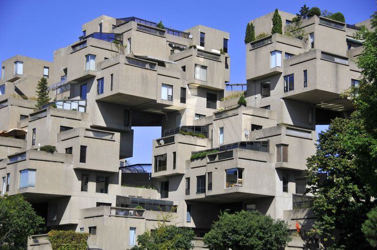 Habitat 67 in Montreal: Habitat 67 is a housing complex in Montreal and one of the most famous structures in the city.