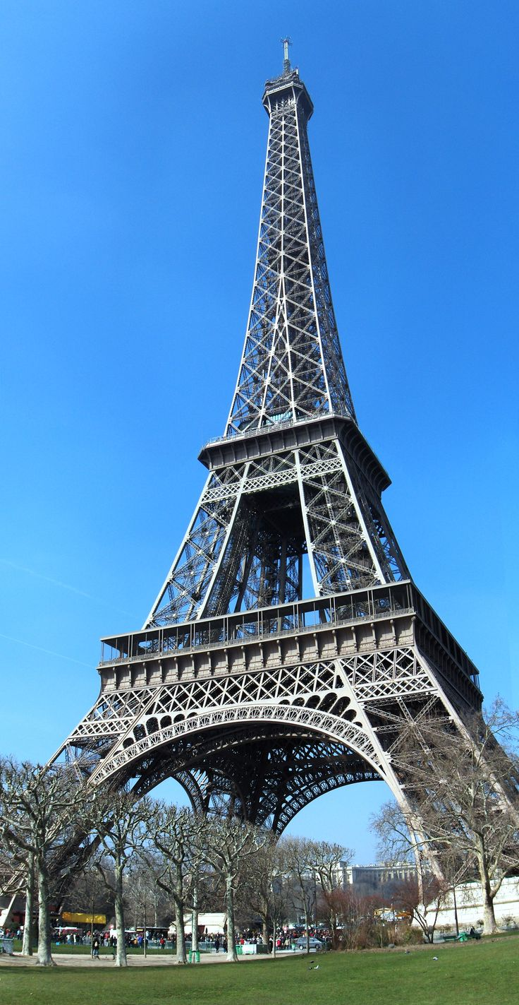 The Eiffel Tower, Paris, France. Climbed all the stairs to the top!