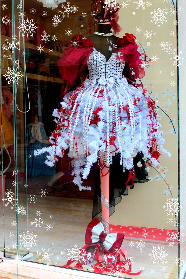 CHRISTMAS TREE DRESS BY Anna-Maria