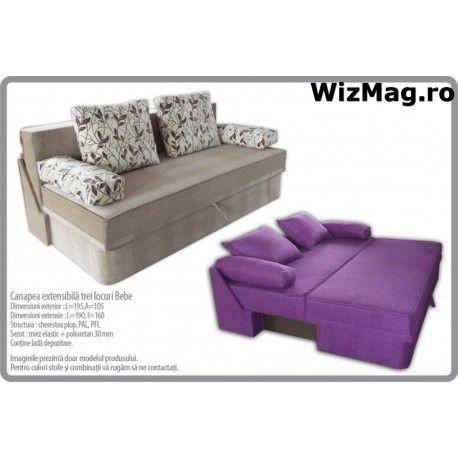 Canapea extensibila Bebe WIZ 008