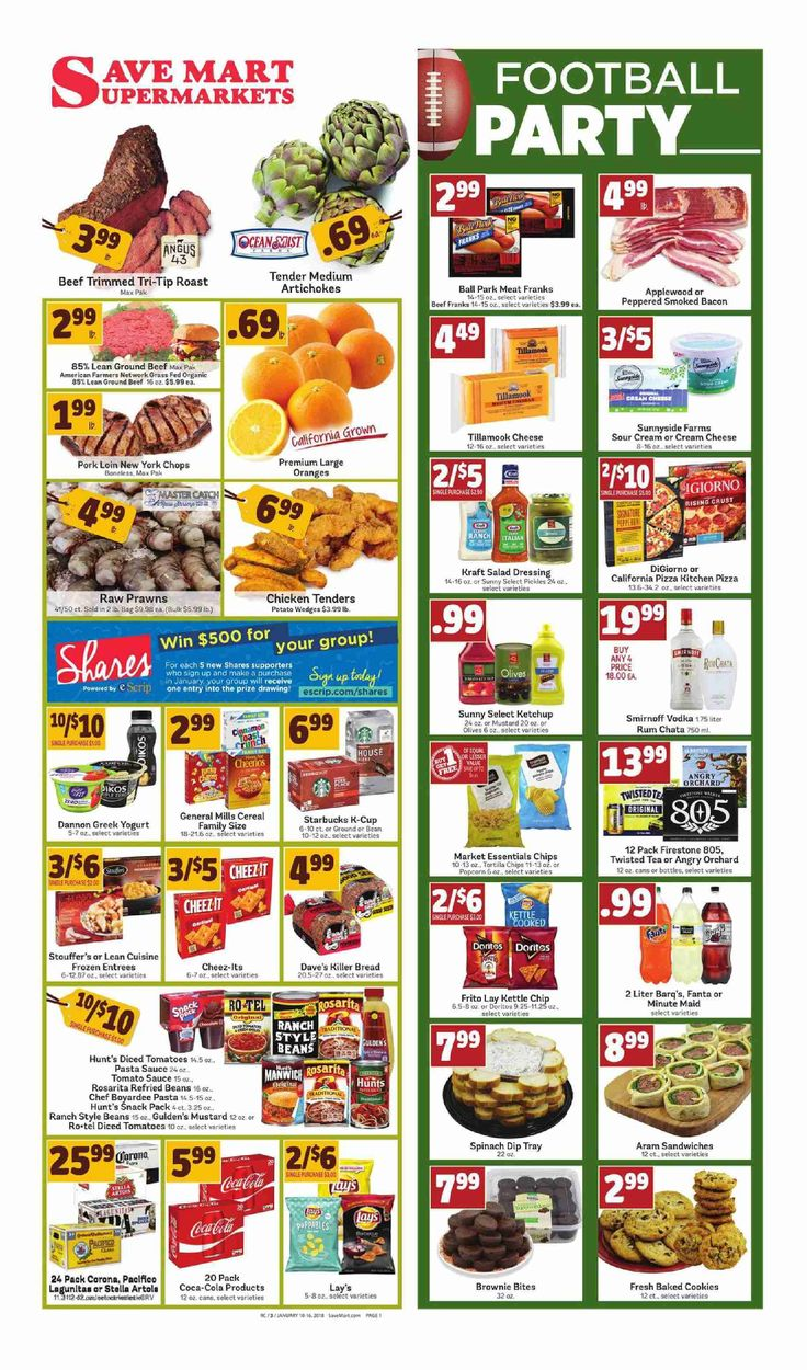 Save Mart Weekly ad January 10 - 16, 2018 - http://www.olcatalog.com/save-mart/save-mart-weekly-ad.html