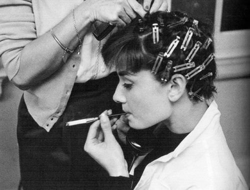 The Hair Style File--Audrey Hepburn, 1950s