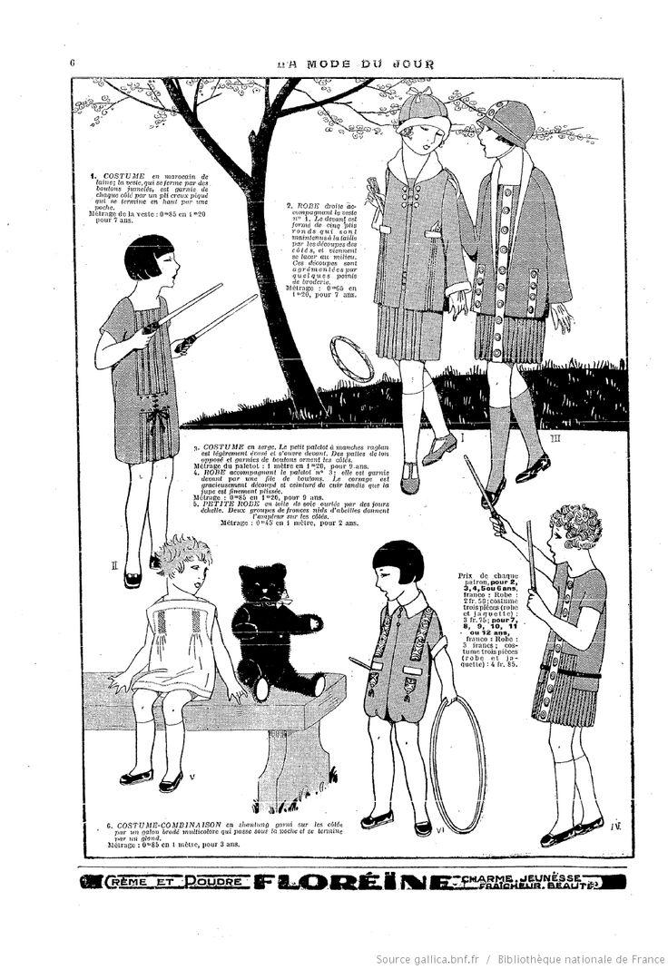 Juin 1925 La Mode du jour