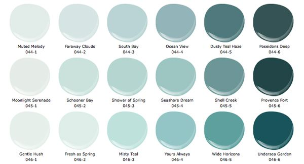 shower of spring is the perfect aqua/ sea glass color