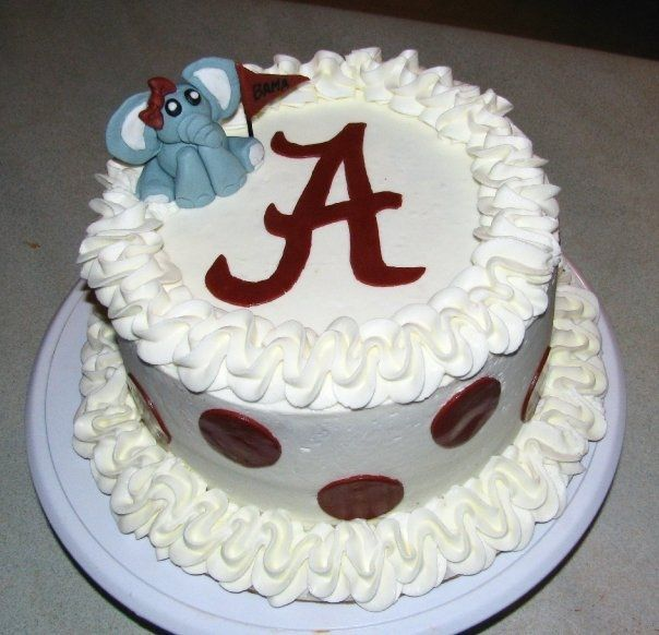 bama birthday | BAMA CAKE with mascot — Birthday Cakes