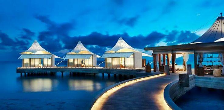 Another night scenery - Maldives