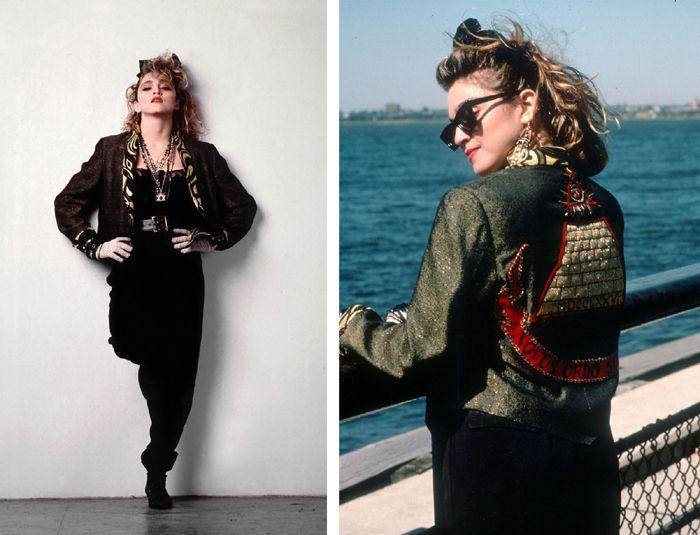 """""""Rozpaczliwie poszukując Susan"""", 1985, Madonna w stylu lat 80."""