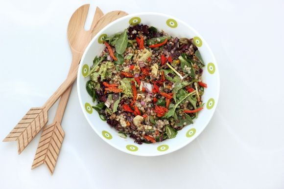 Recipe: Mediterranean Lentil and Couscous Salad