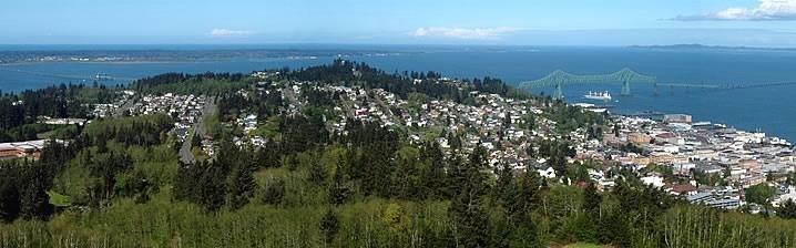 Sleepy little town in Oregon