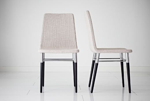 Dining chairs not only should feel good, they should look good too. The PREBEN has both bases covered!